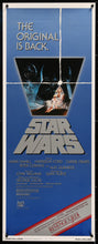 Load image into Gallery viewer, An original insert movie poster for Star Wars