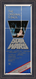 An original insert movie poster for Star Wars
