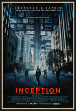 Load image into Gallery viewer, An original movie poster for the film Inception
