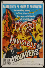 Load image into Gallery viewer, Invisible Invaders  - 1959 - Art of the Movies