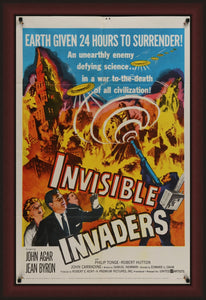 Invisible Invaders  - 1959 - Art of the Movies