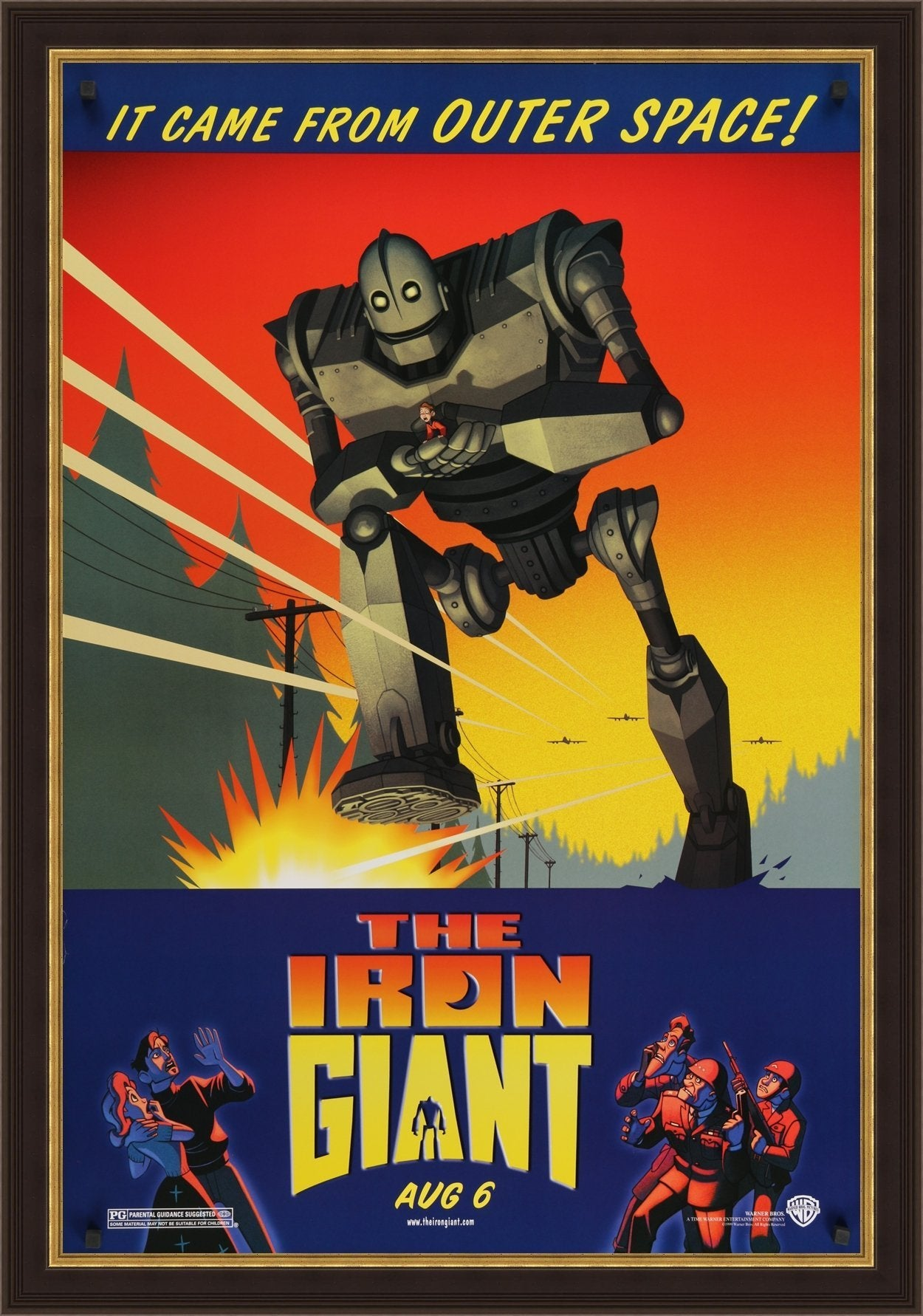 The Iron Giant - 1999 - Art of the Movies