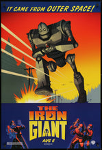 Load image into Gallery viewer, The Iron Giant - 1999 - Art of the Movies