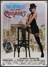 Load image into Gallery viewer, An original movie poster for the Liza Minnelli film Cabaret