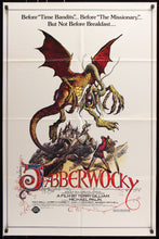 Load image into Gallery viewer, An original movie poster for the Terry Gilliam film Jabberwocky