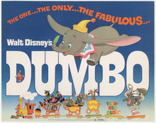 Load image into Gallery viewer, An original lobby card for the Disney movie Dumbo