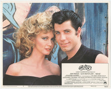 Load image into Gallery viewer, An original lobby card for the musical film Grease