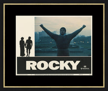 Load image into Gallery viewer, An original Lobby Card from the film / movie Rocky from 1977