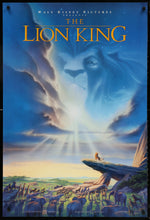 Load image into Gallery viewer, An original movie poster for the Disney film The Lion King