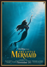 Load image into Gallery viewer, An original movie poster for the Disney film The Little Mermaid by John Alvin
