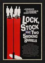 Load image into Gallery viewer, An original movie poster for Guy Ritchie's Lock, Stock and Two Smoking Barrels
