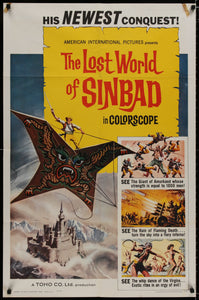 The Lost World of Sinbad - 1965 - Art of the Movies
