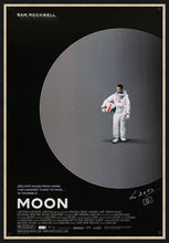 Load image into Gallery viewer, An original movie poster for the Duncan Jones film Moon