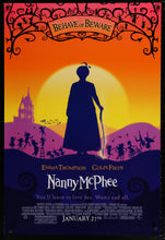 Load image into Gallery viewer, An original movie poster for Nanny McPhee