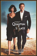 Load image into Gallery viewer, An original movie poster for the James Bond film Quantum of Solace