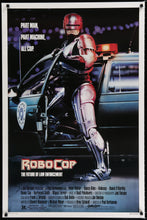 Load image into Gallery viewer, An original movie poster for the film Robocop