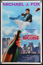 Load image into Gallery viewer, An original movie poster for the Michael J. Fox film The Secret of My Success