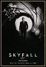Load image into Gallery viewer, An original movie poster for the James Bond film Skyfall