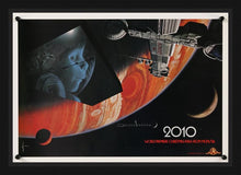 Load image into Gallery viewer, An original promotional poster for the movie 2010 The Year Me Make Contact by Syd Mead