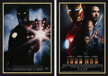 Load image into Gallery viewer, An original movie poster for the Marvel film Iron Man