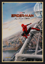 Load image into Gallery viewer, An original movie poster for the Marvel film Spiderman Far From Home