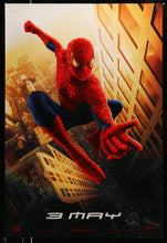 Load image into Gallery viewer, An original movie poster for Spider-Man