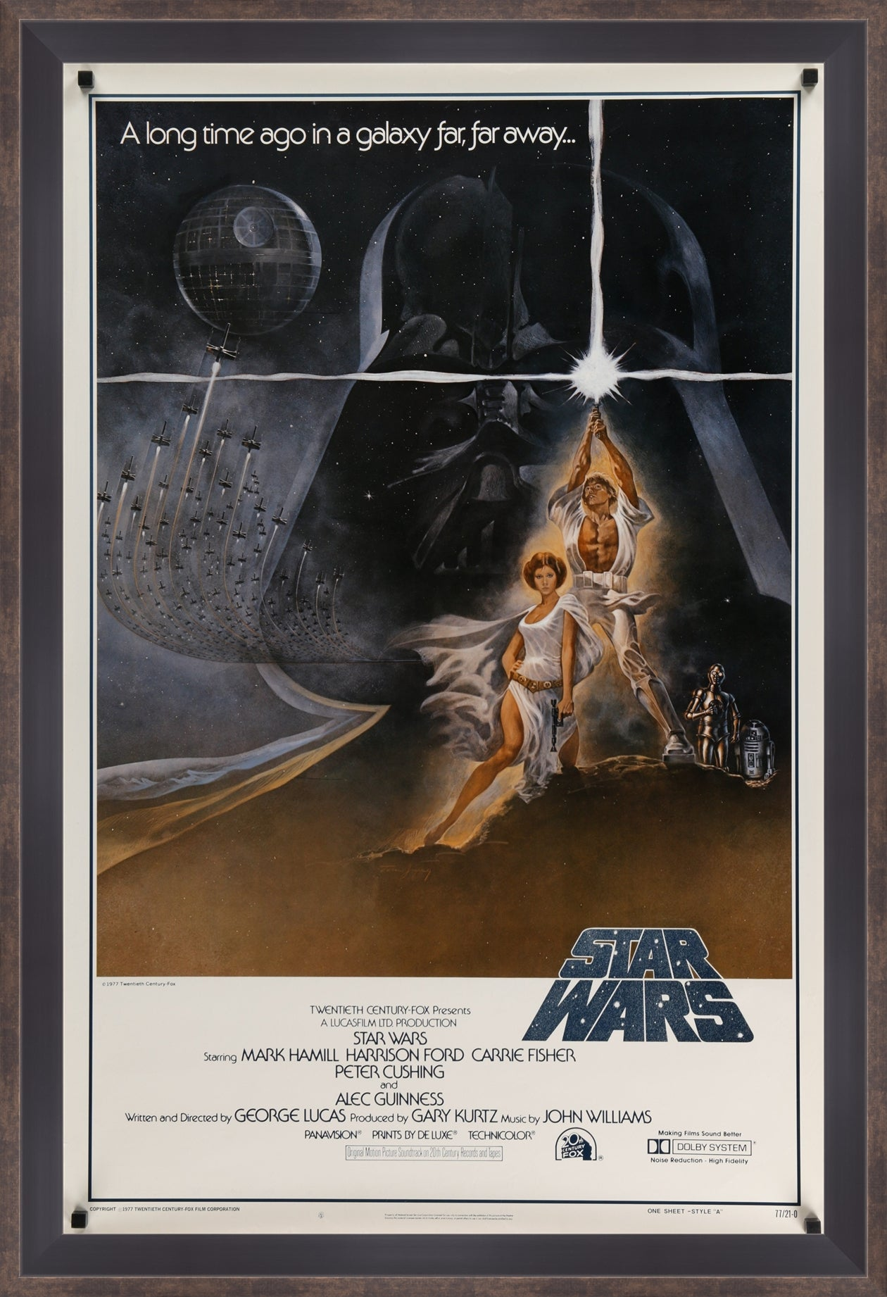 Star Wars  - 1977 - Art of the Movies