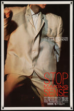Load image into Gallery viewer, An original movie poster for the film Stop Making Sense starring The Talking Heads