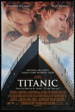 Load image into Gallery viewer, An original movie poster for the James Cameron film Titanic