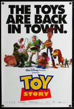 Load image into Gallery viewer, An original movie poster for the Pixar film Toy Story