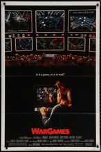 Load image into Gallery viewer, An original movie poster for the film Wargames (War Games)