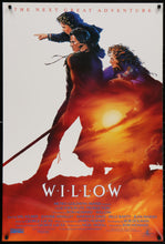 Load image into Gallery viewer, An original movie poster for the film Willow