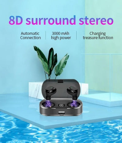 8 surround stereo sound
