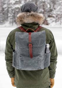 The Rogue Backpack, Slate / m.sidelomme