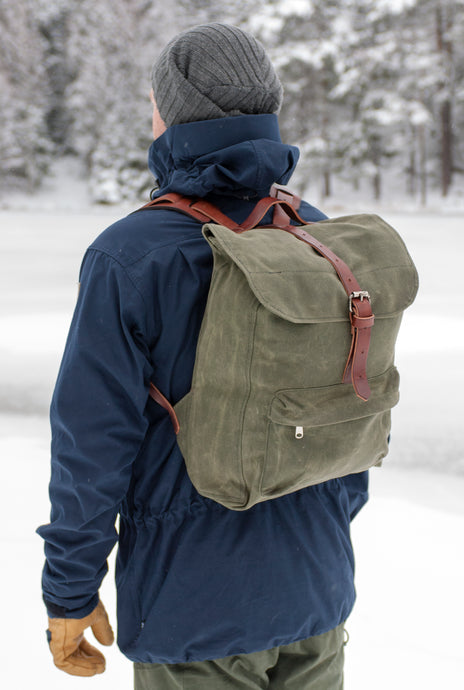 The Rogue Backpack, Moss / uten sidelomme