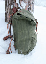 Load image into Gallery viewer, The Rogue Backpack, Moss / uten sidelomme
