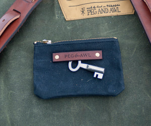 Peg and Awl, No. 1: The Spender Pouch, Coal