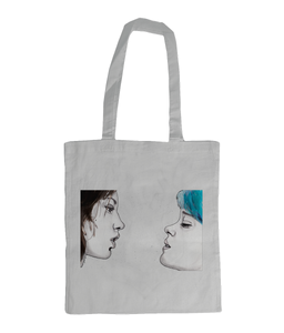 Blue Is The Warmest Colour Shoulder Tote Bag