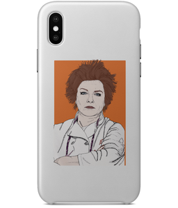 Red OITNB iPhone X Full Wrap Case