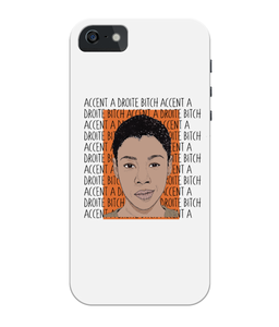 Poussey OITNB iPhone 5/5S/SE Full Wrap Case