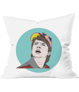 Marty Mcfly Throw Cushion
