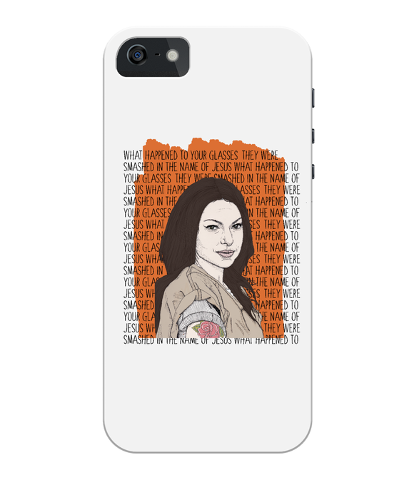 Alex Vause OITNB iPhone 5/5S/SE Full Wrap Case