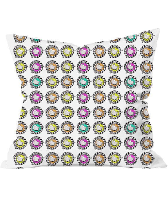 Splash Pattern Throw Cushion