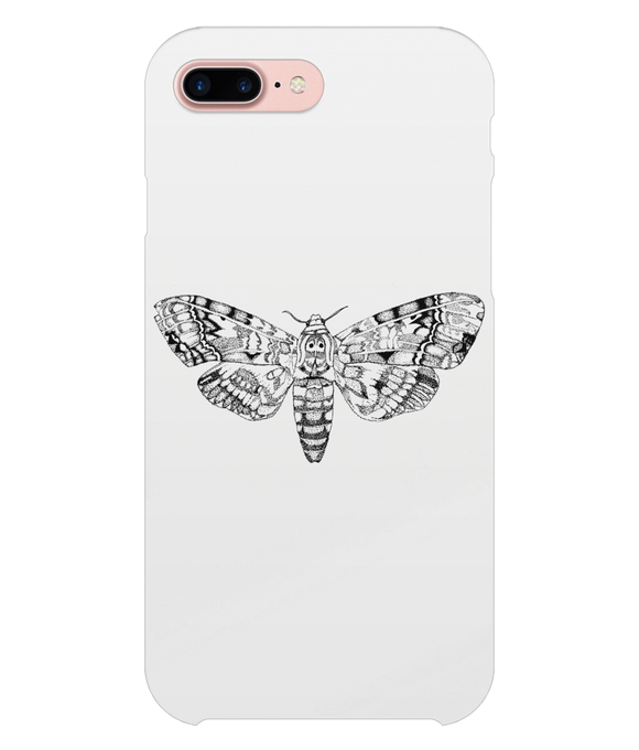 Death's-Head Hawkmoth iPhone 8 Plus Full Wrap Case