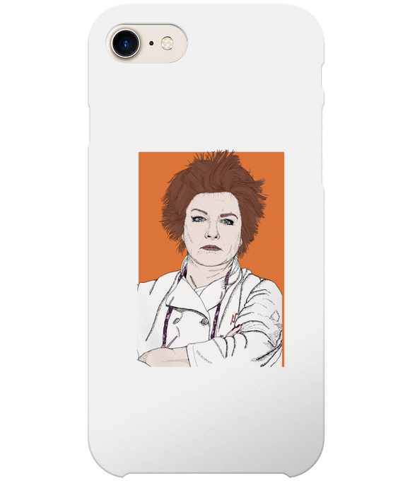 Red OITNB iPhone 8 Full Wrap Case