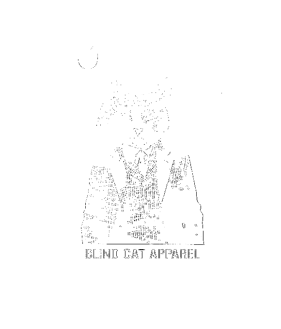 Blind Cat Apparel Logo iPhone X Full Wrap Case
