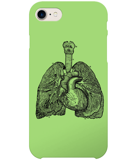 Anatomical Lungs iPhone 8 Full Wrap Case
