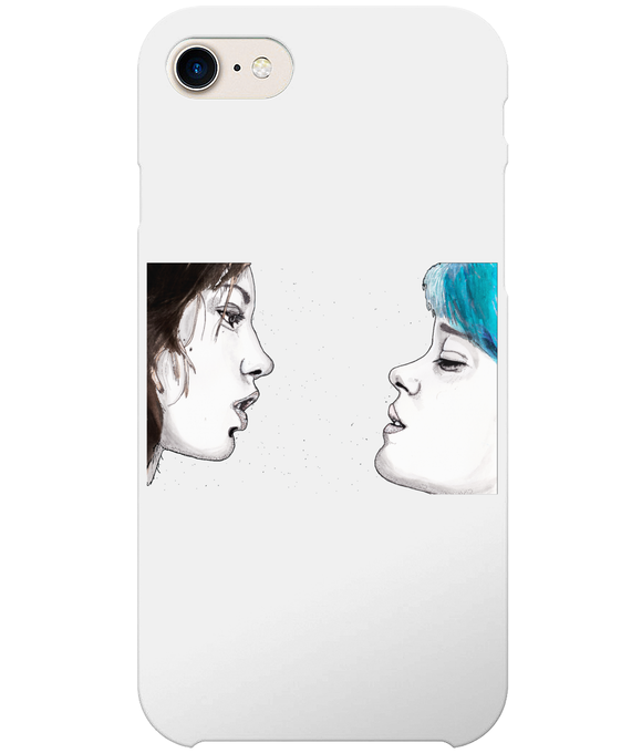 Blue Is The Warmest Colour iPhone 8 Full Wrap Case