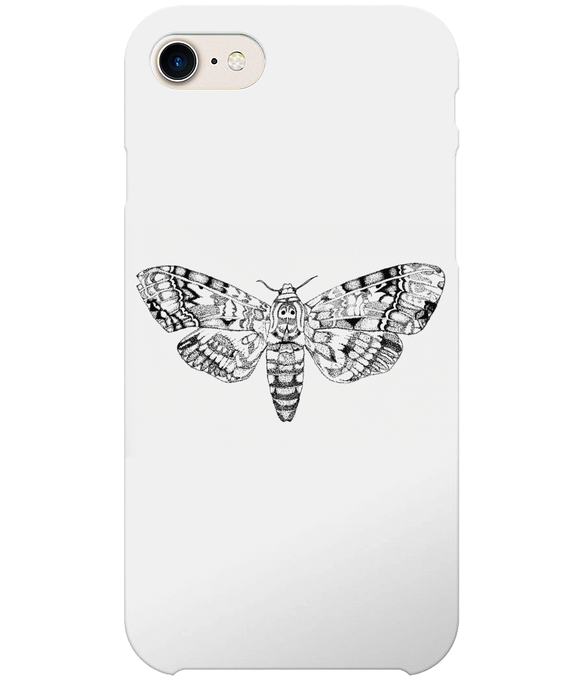Death's-Head Hawkmoth iPhone 8 Full Wrap Case