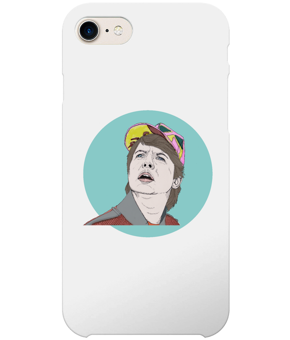 Marty Mcfly iPhone 7 Full Wrap Case